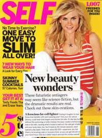Mention of Zerona in Self Magazine in August 2011